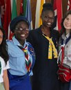 082015 Our Cabana guides with flags