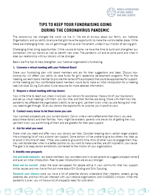 1. Fundraising Tips for MOs COVID-19 Framework.PNG