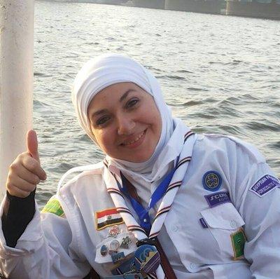 Egypt girl guides leader