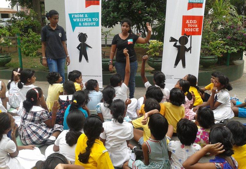 102013 Sri Lanka Stop the violence STV Training_presentation