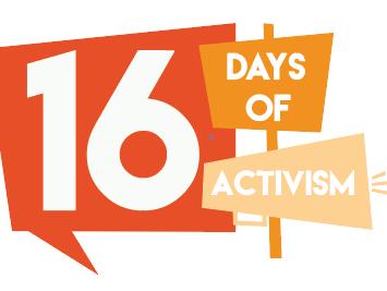 16 Days banner