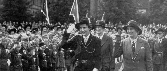 1945 Olave Baden-Powell