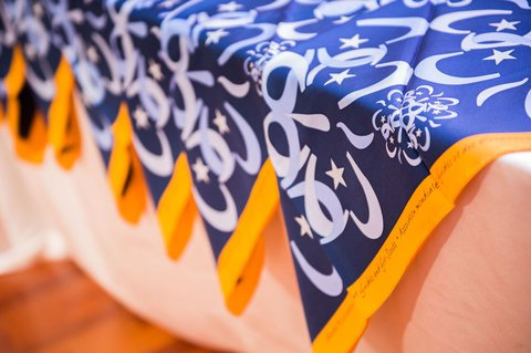 2014 World Conference Hong Kong Japan Scarves WAGGGS scarves