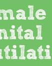 2015 STOP THE VIOLENCE CAMPAIGN FEMALE GENITAL MUTILATION