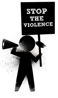 2015_Stop the violence_campaign_person_icon