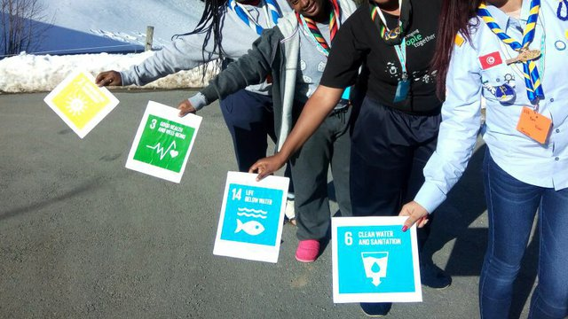 02 2018 _ Our Chalet _ Girls with global goals