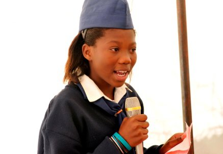 072008 South Africa Girl Guide Speaking 33 World Conference