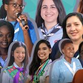 دعوة للانضمام لأبطال مناصرة للجمعية العالمية للمرشدات وفتيات الكشافة لعام 2022