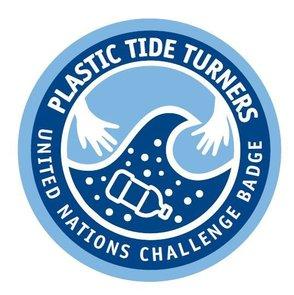 Tide Turners Plastic Challenge Badge