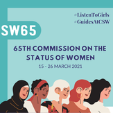 #GuidesAtCSW tell decision makers what girls want