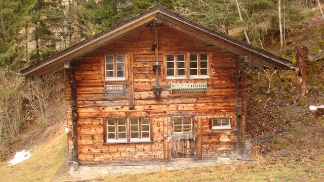 Switzerland Squirrel House outside