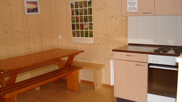Switzerland Camp House inside