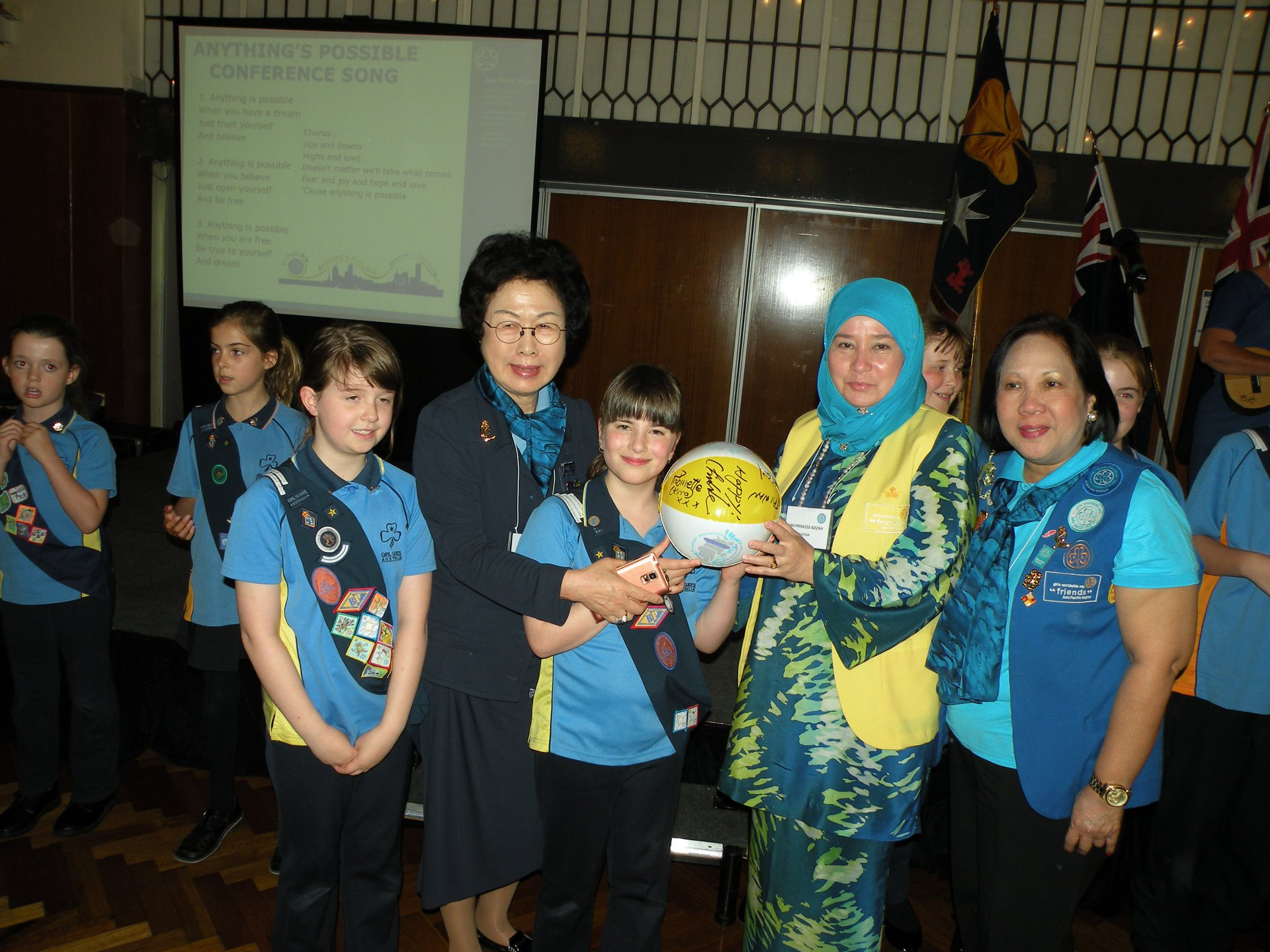Friends of Asia Pacific WAGGGS at APR Conference for Leaders of Girls 2014