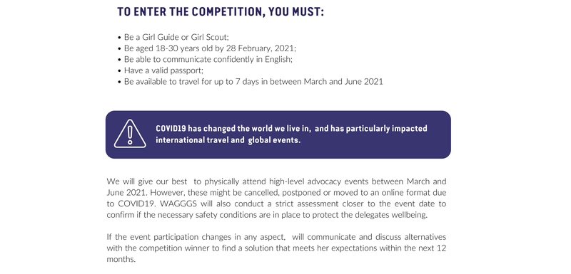 U-Report competition part 3 section