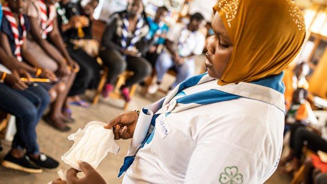 Girl Guide Leader of Rwanda; Photographer - ChristianKlant.jpg