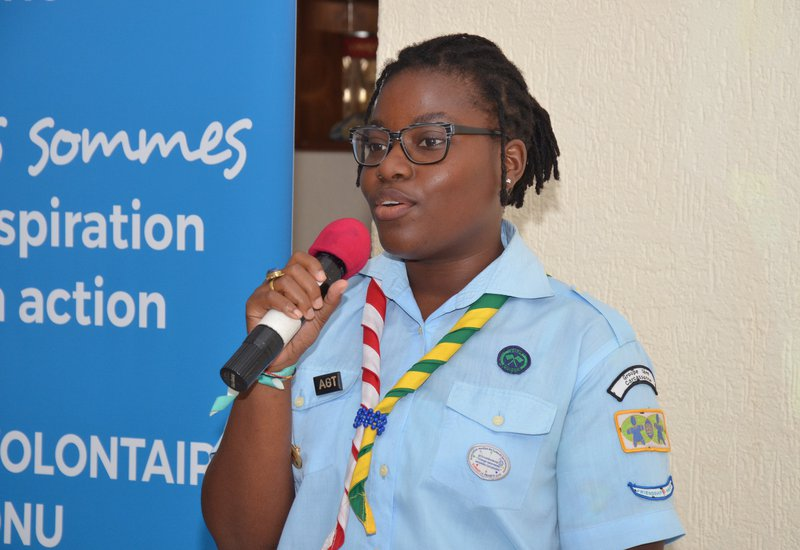 Girl Guides in Togo are training teachers