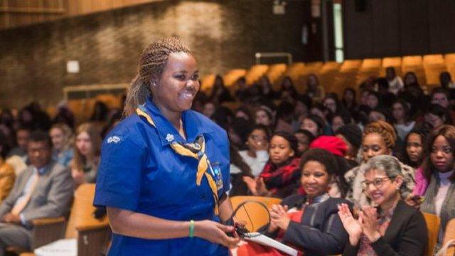 CSW63 Lucia advocacy champion