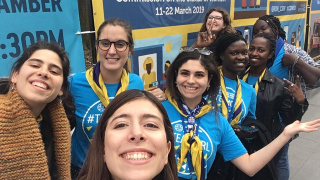 CSW63 WAGGGS delegates