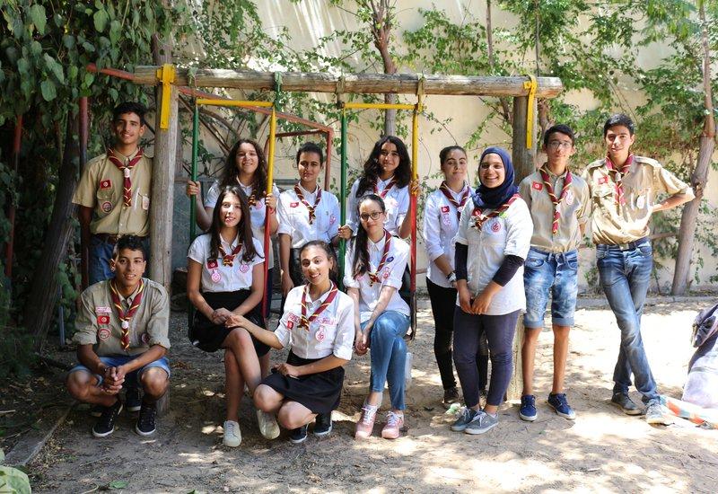 Tunisian Girl Scouts