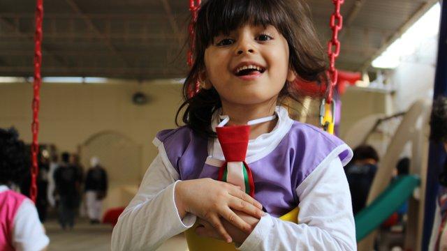 Arab Region Confernece - young member smiling