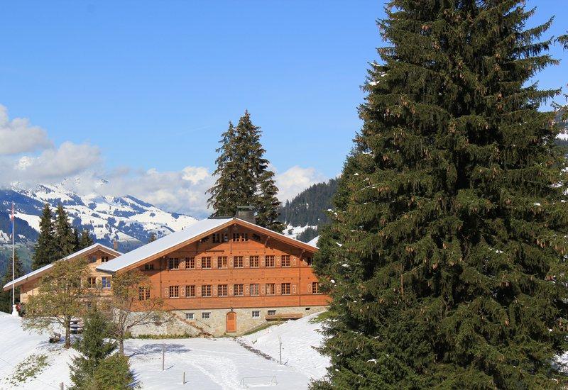 Switzerland Main Chalet winter