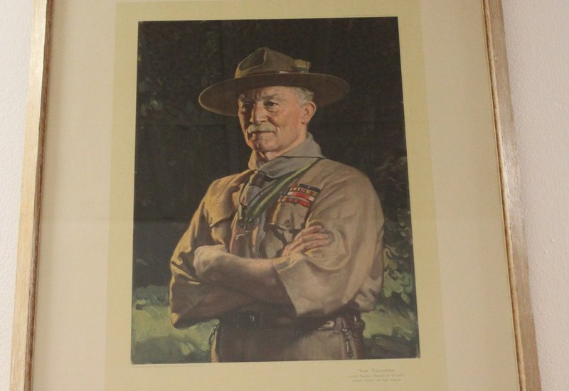 012016 Pax Lodge Portrait of Robert Baden-Powell