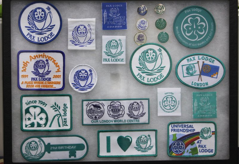 012016 Pax Lodge Pax Lodge badges through the years