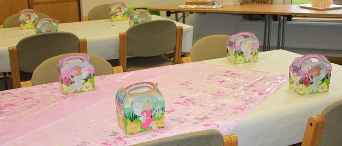 092015 Pax Lodge birthday party setup