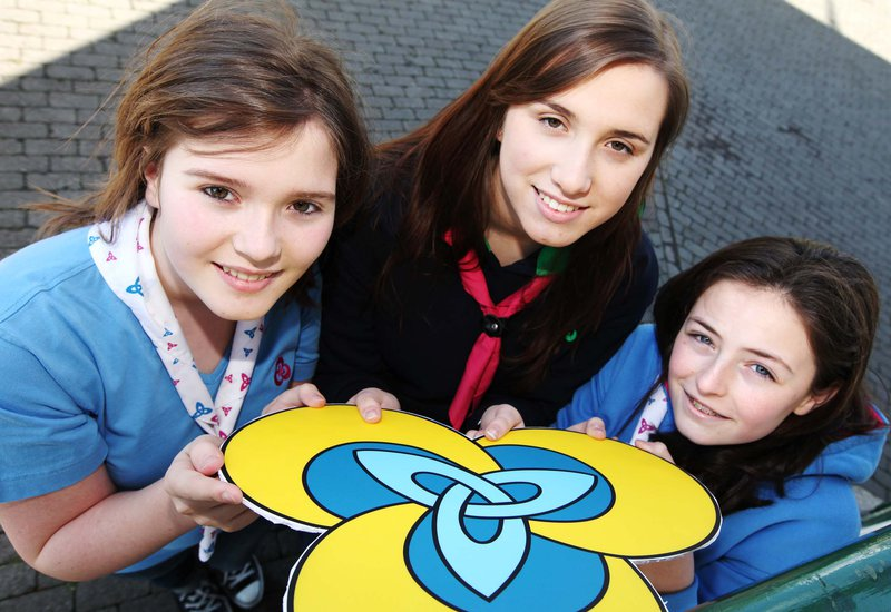 The Irish Girl Guides (IGG) Girls