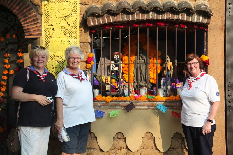DAY OF THE DEAD 2020 AT OUR CABAÑA