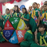 """We already have the key…"" Launching the new Girl Powered Nutrition Badge and Advocacy Campaign in the Philippines."