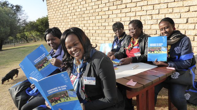 052015 South Africa Prepared to Learn workshop