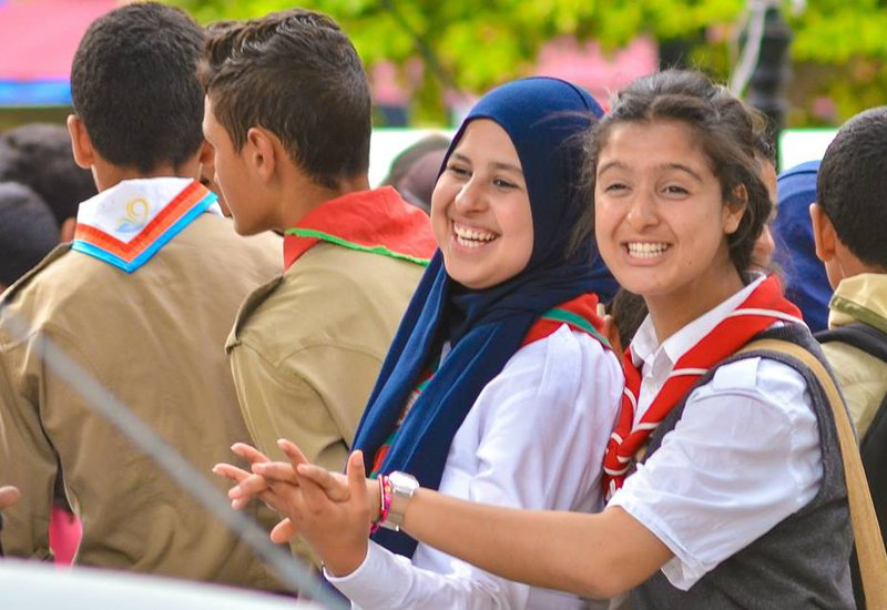 Tunisia Girl Guides