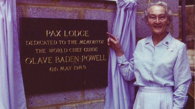 Pax Lodge Foundation Stone