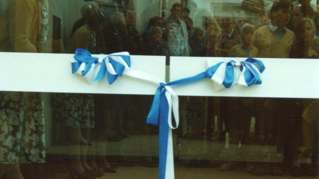 031990 Pax Lodge door opening ceremony