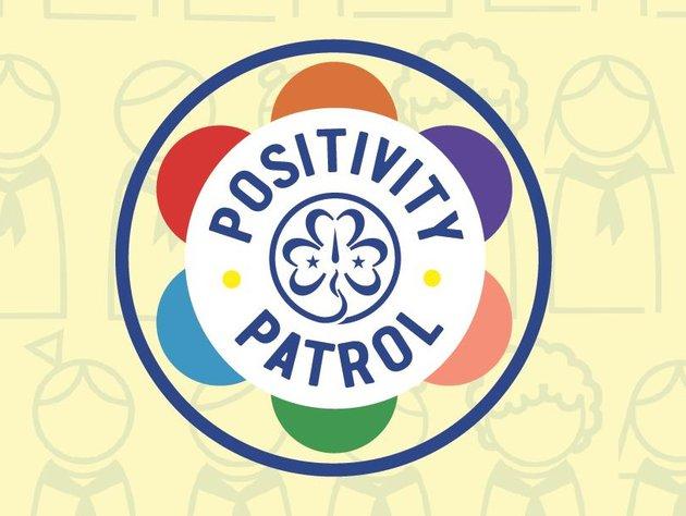 Positivity Patrol Border