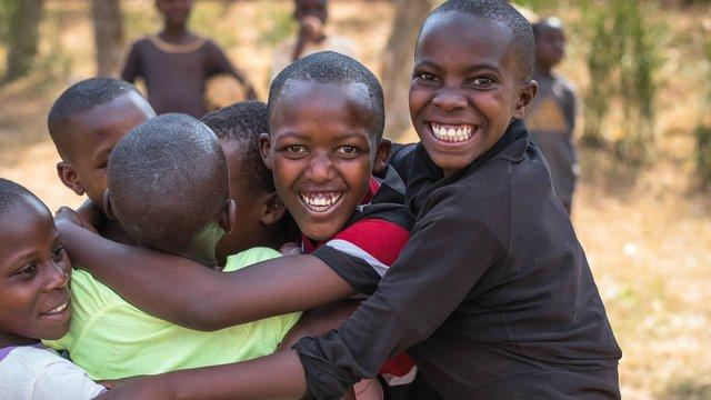 082017 Rwanda - group hug