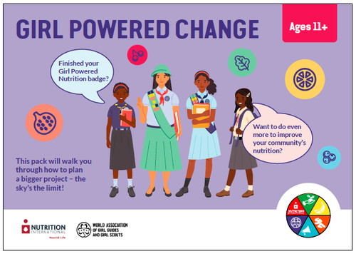 GPN Girl Powered Change front cover