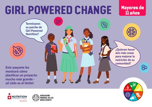 GPN girl powered change pack ESPAGNOL