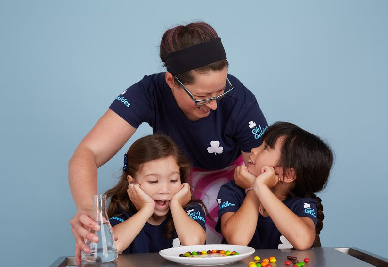 Sparks Canada Girl Guides