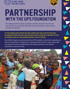 Partnership with the UPS Foundation cover