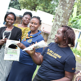 Young women in Eastern Uganda stand up against gender based violence