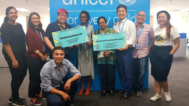 Unicef Malaysia meeting