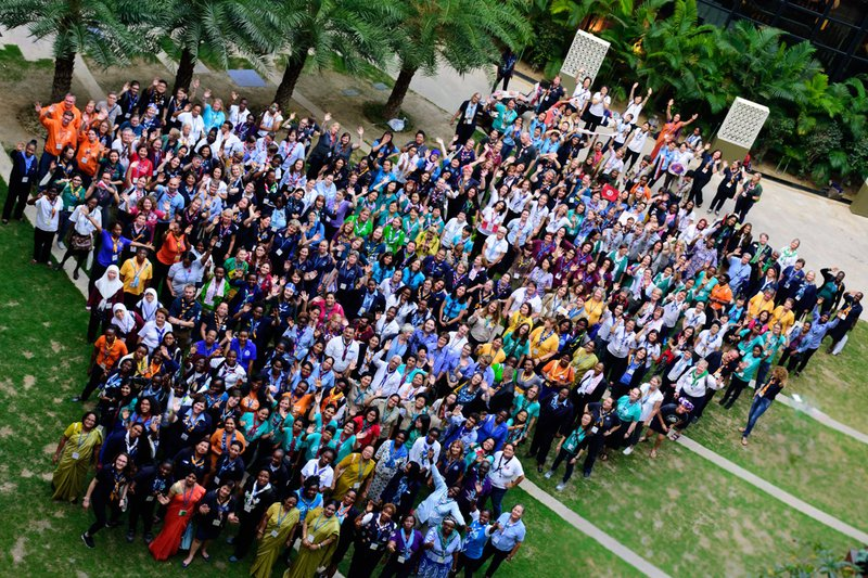 WAGGGS Member Organisations at the 2017 World Conference