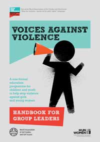 Cover of the Voices against Violence curriculum