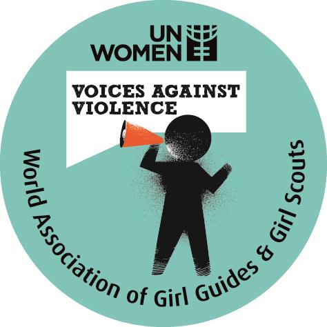 Voices against Violence badge