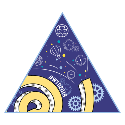 Girlguiding World Thinking Day 2019 Badge