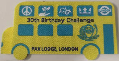 30th challenge badge