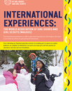 International experiences brochure
