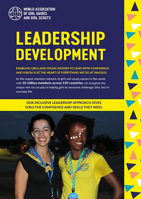 Leadership Development brochure cover
